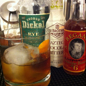 Orange Chocolate Old Fashioned