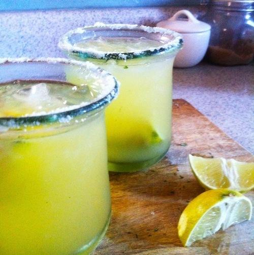 Pineapple, Cilantro, & Lime Margarita