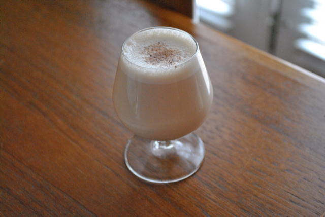 "Pecan ""Milk Punch"""