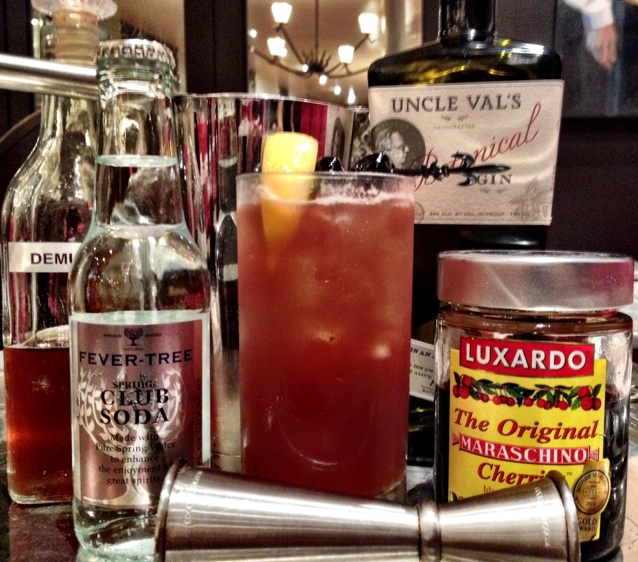 Luxardo cherry Sling