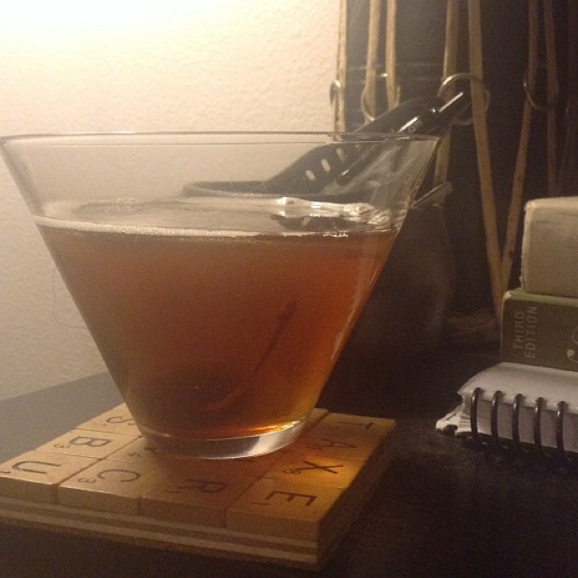 Hazelnut Manhattan