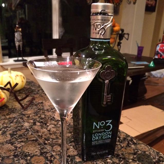 No. 3 Dry Martini