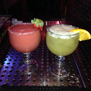 Sweetheart Margarita and Jamaican Cowboy Margarita