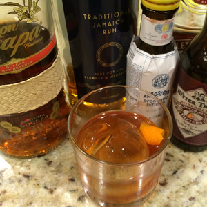 Three Rum Old Fashioned