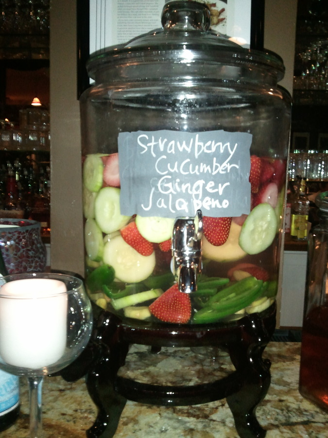 Strawberry Jalapeno Cucumber Ginger Infused Vodka
