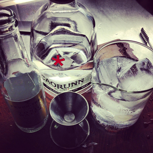 Caorunn and tonic