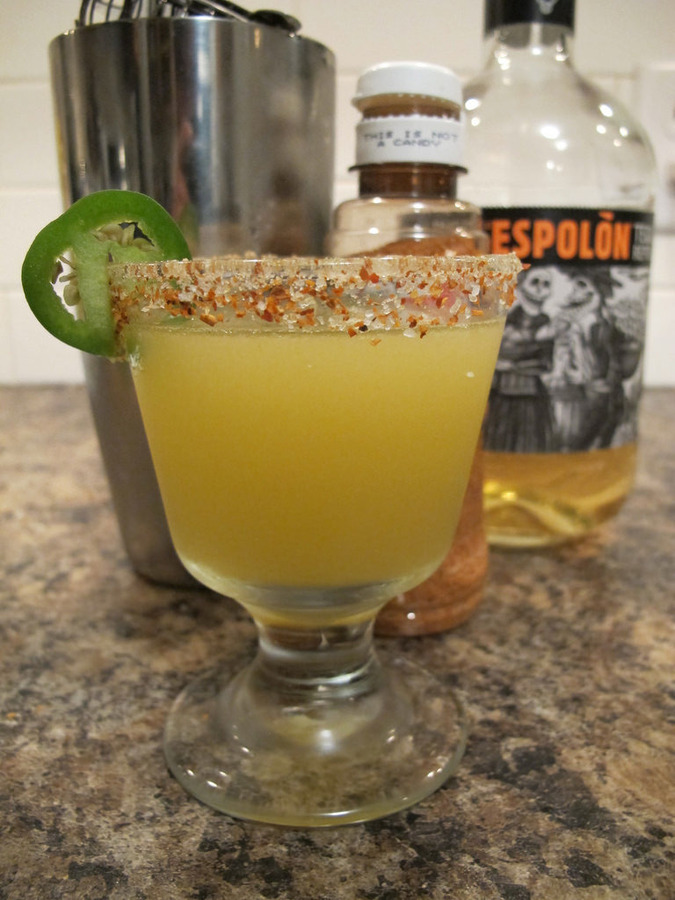 Burn Your Face Off Margarita