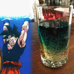 The Spirit bomb Cocktail