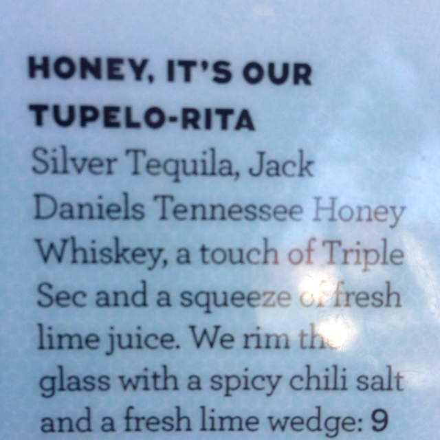 Honey, it's our Tupelo-Rita