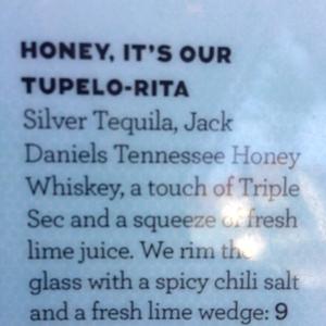Honey, it's our Tupelo-Rita