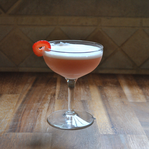 Bourbon Clover Club