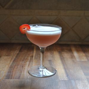 Bourbon Clover Club