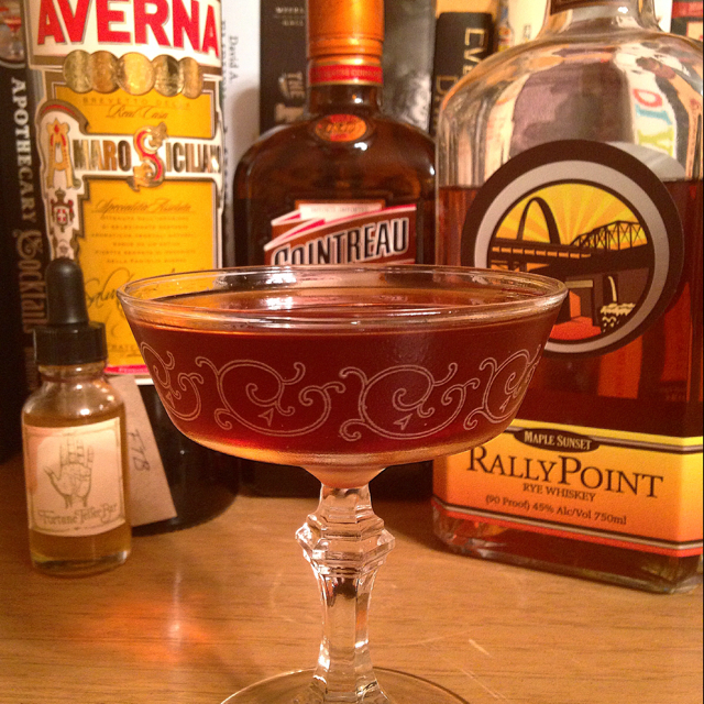 Maple Sunset Improved Cocktail