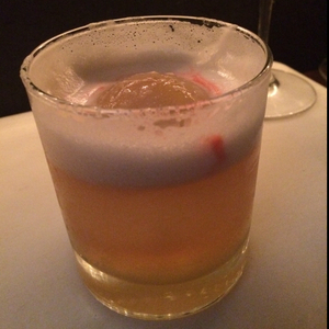 Whiskey Shrub Sour