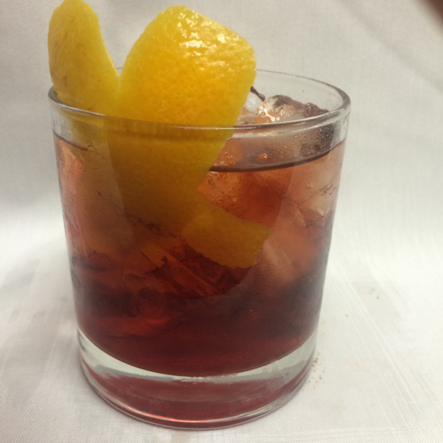 Rum old fashion