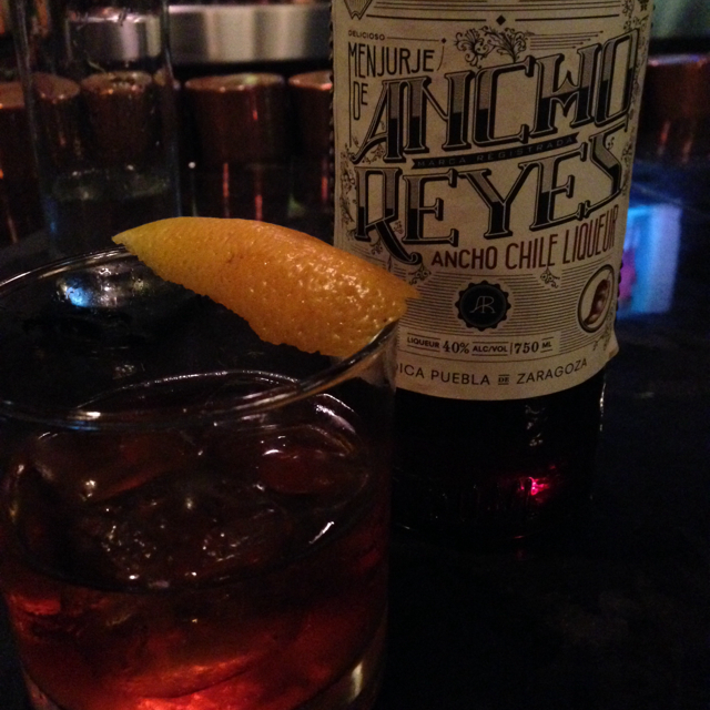 Ancho Old Fashioned