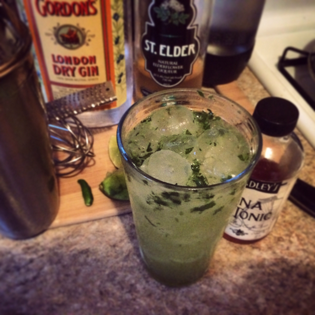 Spicy Green Ginandtonic