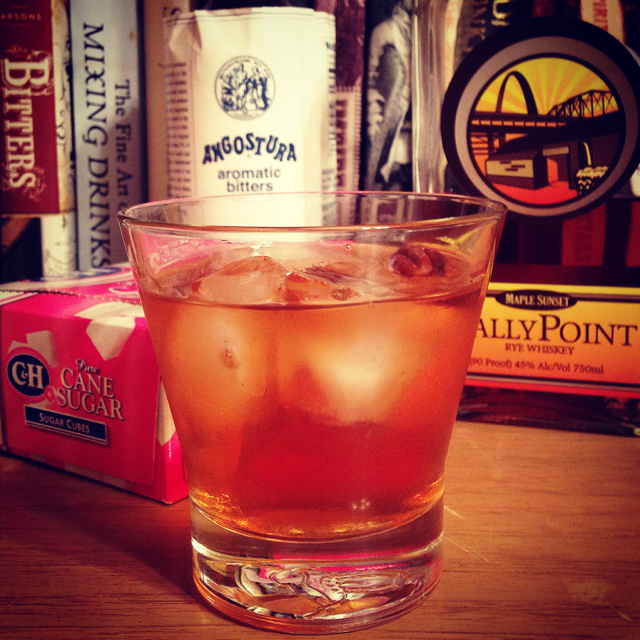 Maple Sunset Old-fashioned