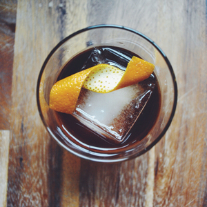 Rum Raisin Old Fashioned