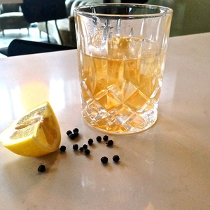 Pepper Mezcal Old Fashioned