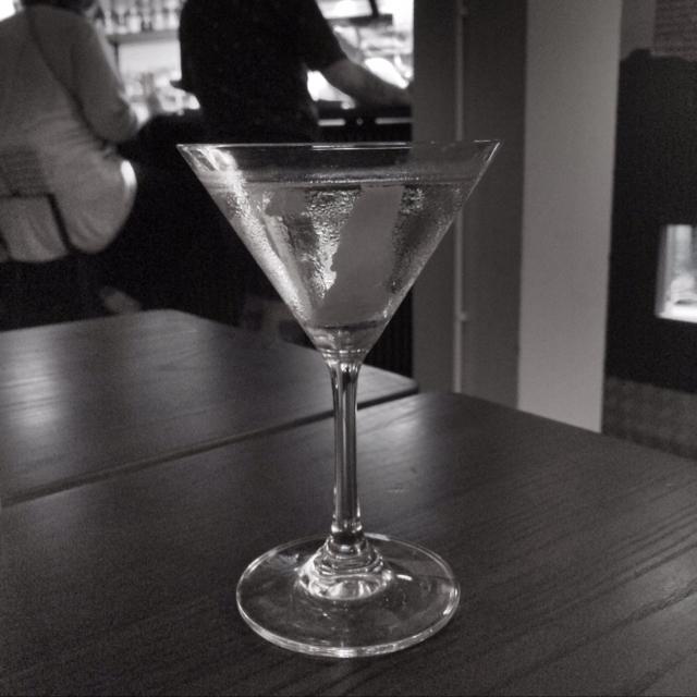 Inside  Out Vesper Martini