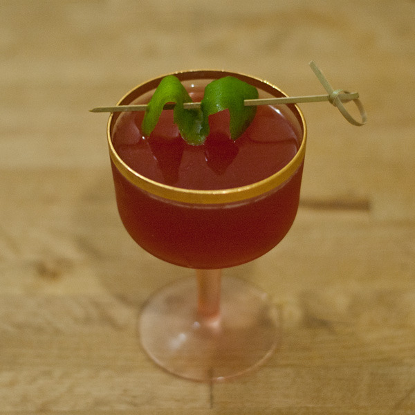 Ruby Road Cocktail