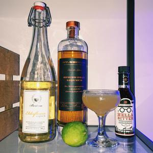 Spiced Pear Tree Martini Remix