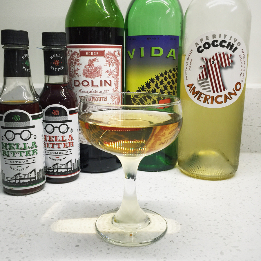 Less-than-perfect Mezcal Martini