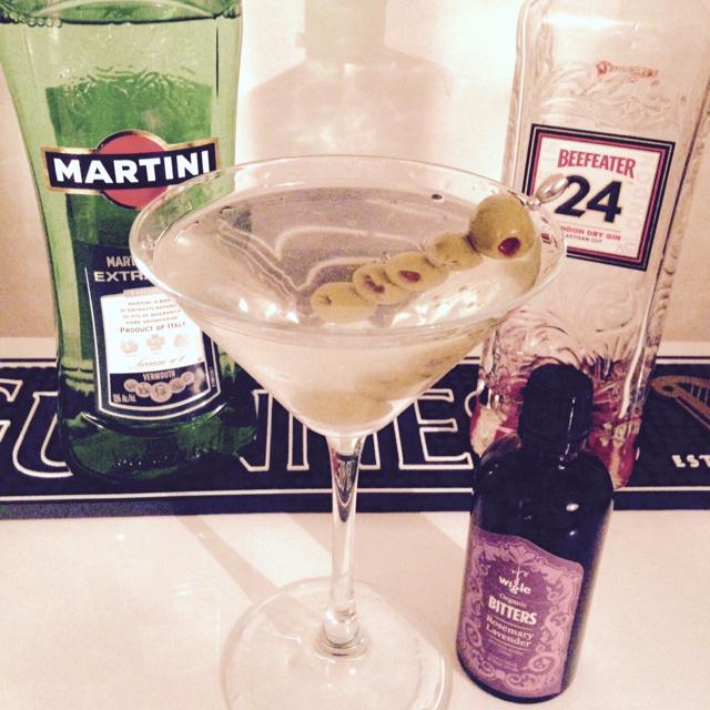 Bitter Dry Martini