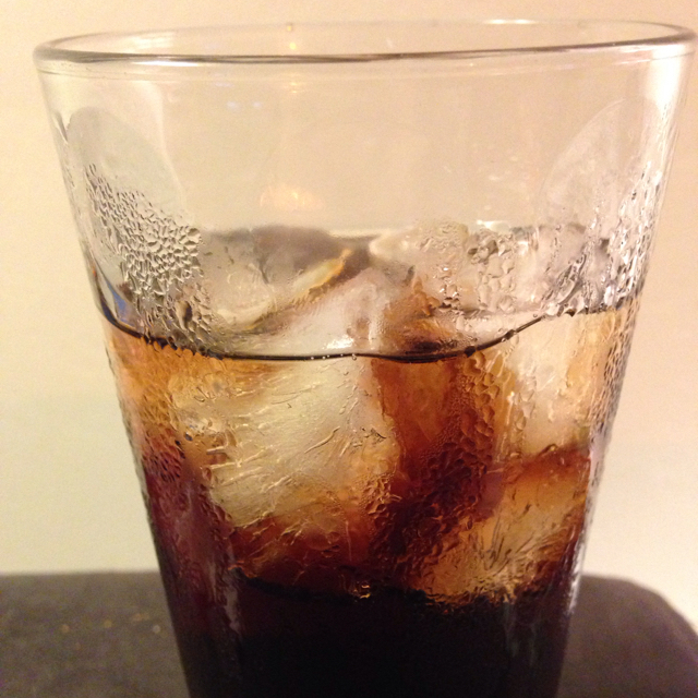 Splash 'O Dark Rum and Coke
