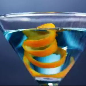 Sapphire Martini, Up With a Twist