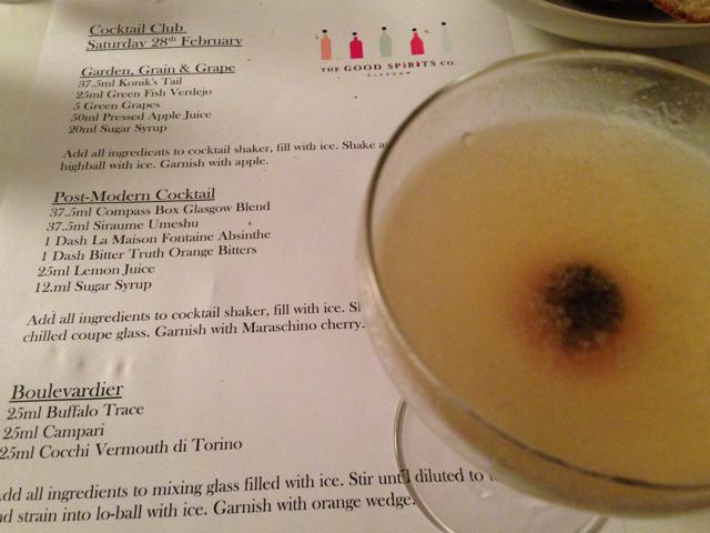 Post-Modern Cocktail