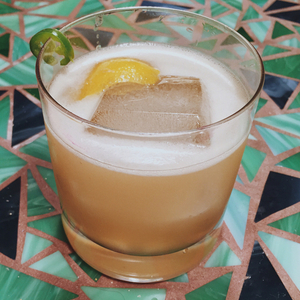 Spicy Gold Rush Sidecar