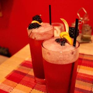 Pineapple Gin Bramble