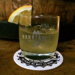 J. Potts Hop Infused Barrel-Aged Cocktail