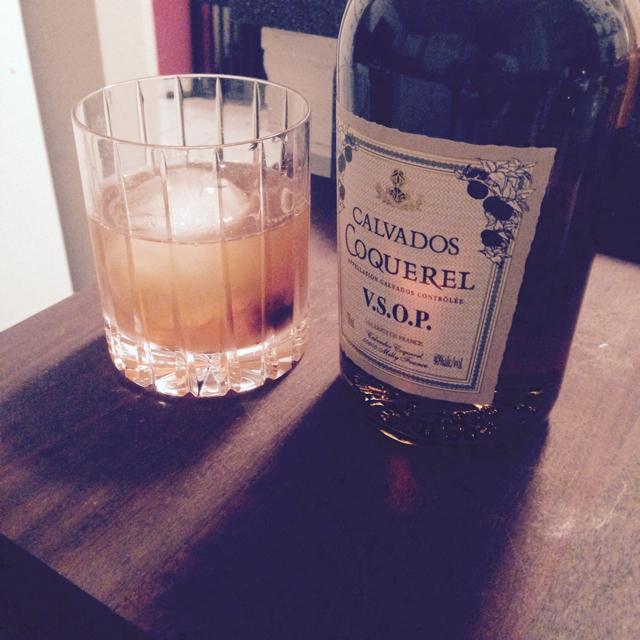 Calvados Old Fashioned