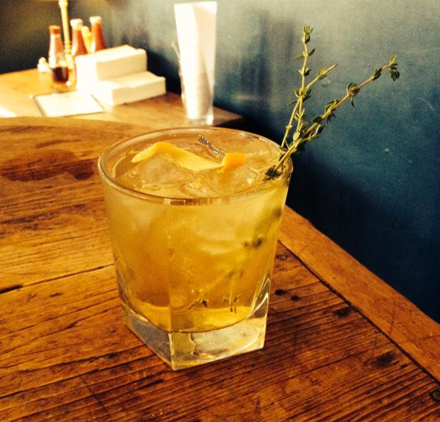 Earl Grey & Orange Shrub Gin