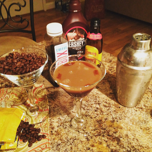 Chocolate Coffee Martini