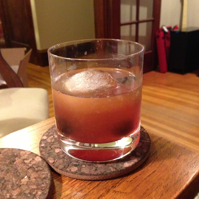 Jen's Maple Bourbon Cherry Sour