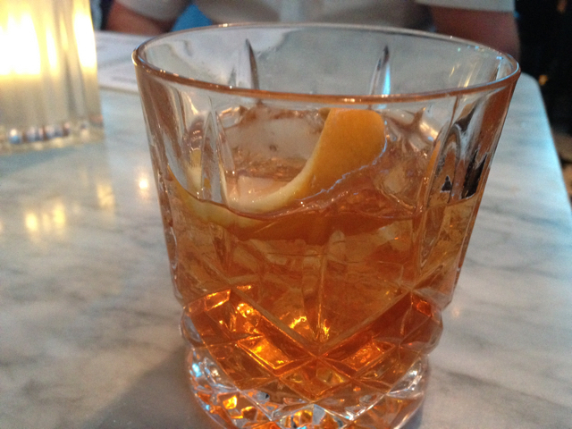 Tonka Bean Old Fashioned