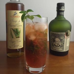 The Diplomat's Strawberry Lemon Mojito