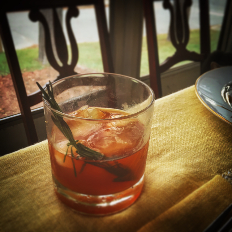 Fall Fruit Old Fashioned