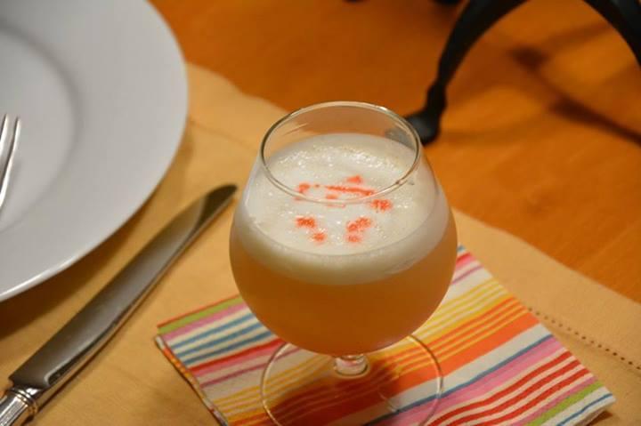 Cognac-Amaretto Sour