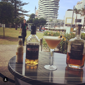 Mount Gay and Drambuie Sour