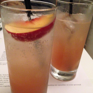 White Peach Pisco Punch