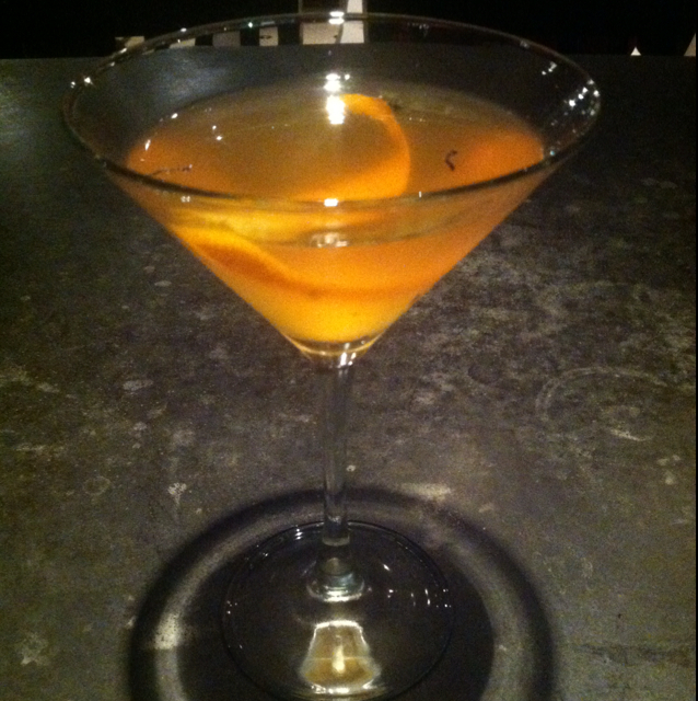 "Earl Grey ""needs a better name"" Martini"