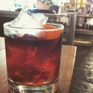 Gunpowder Negroni