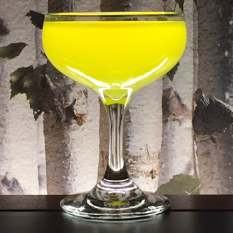 The Glo-Sour with Turmeric Gin