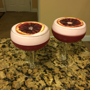 Blood Orange Rum Sour