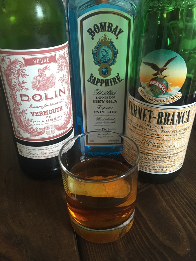 Fernet Branca Cocktail